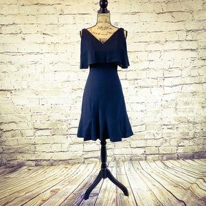 Stunning Vintage ILGWU Black Party Dress